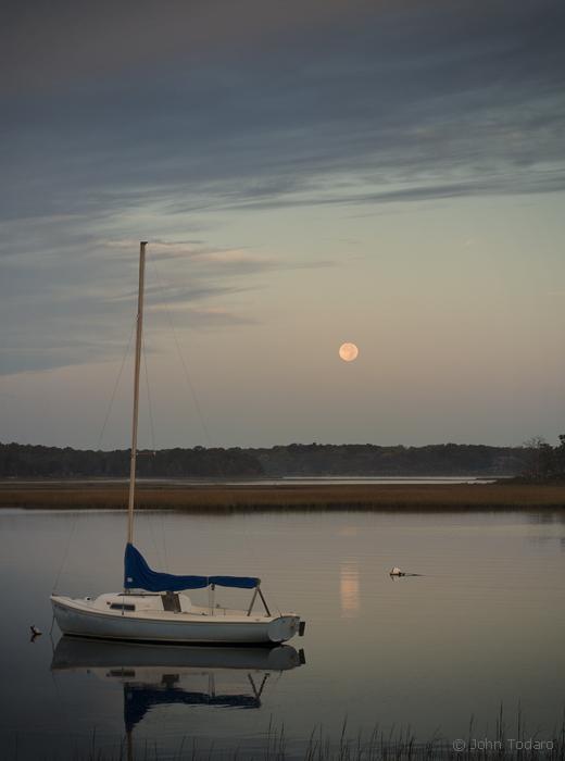 Accabonac Moon
