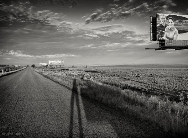 Frontage Road Landscape, Cedar City