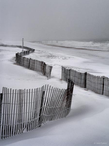 Winter Beach Vertical