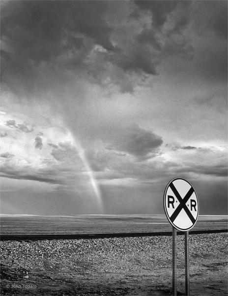 rainbow monochrome