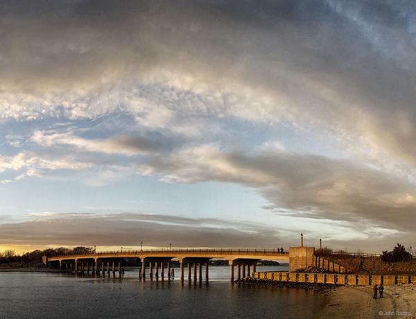 Day's End, Haerter Bridge
