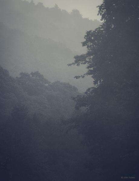 Rain At Brandon Gap